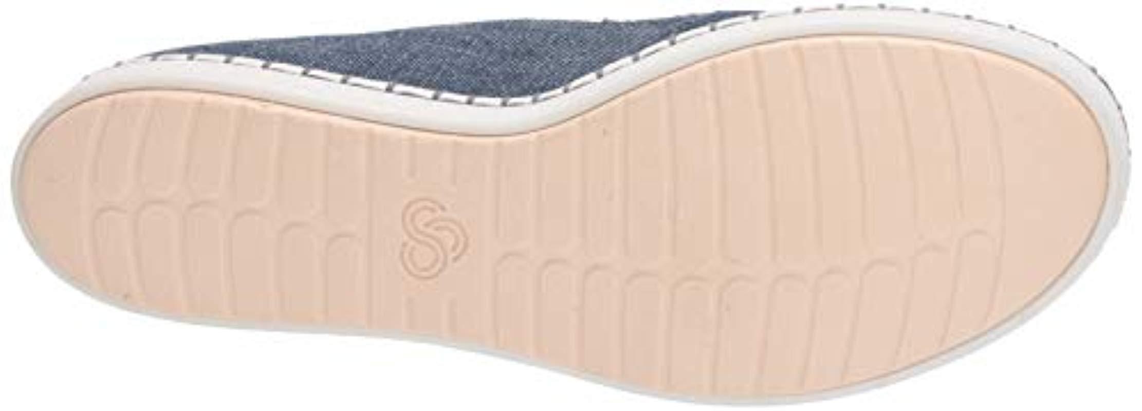 Step Glow Slip, Zapatillas sin Cordones para Mujer Clarks de color Azul - 16 % de descuento