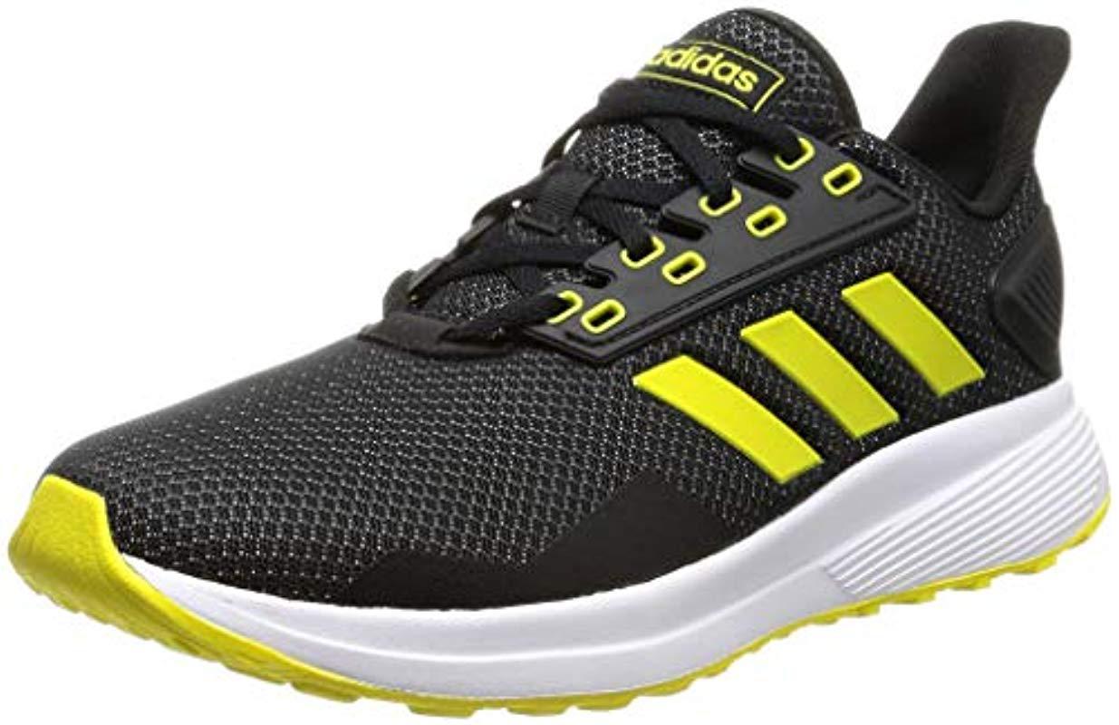 buy online e9645 5c9e3 Adidas - Black Duramo 9 Running Shoes for Men - Lyst. View fullscreen
