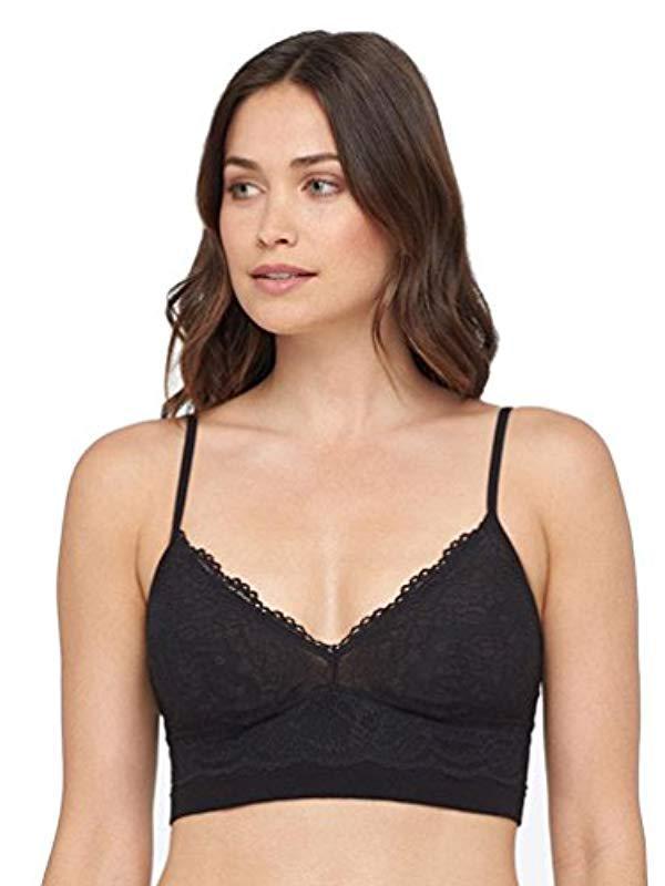 7e8861e5c5ce Lyst - Yummie Romance Lace Cami Bralette Underwear in Black