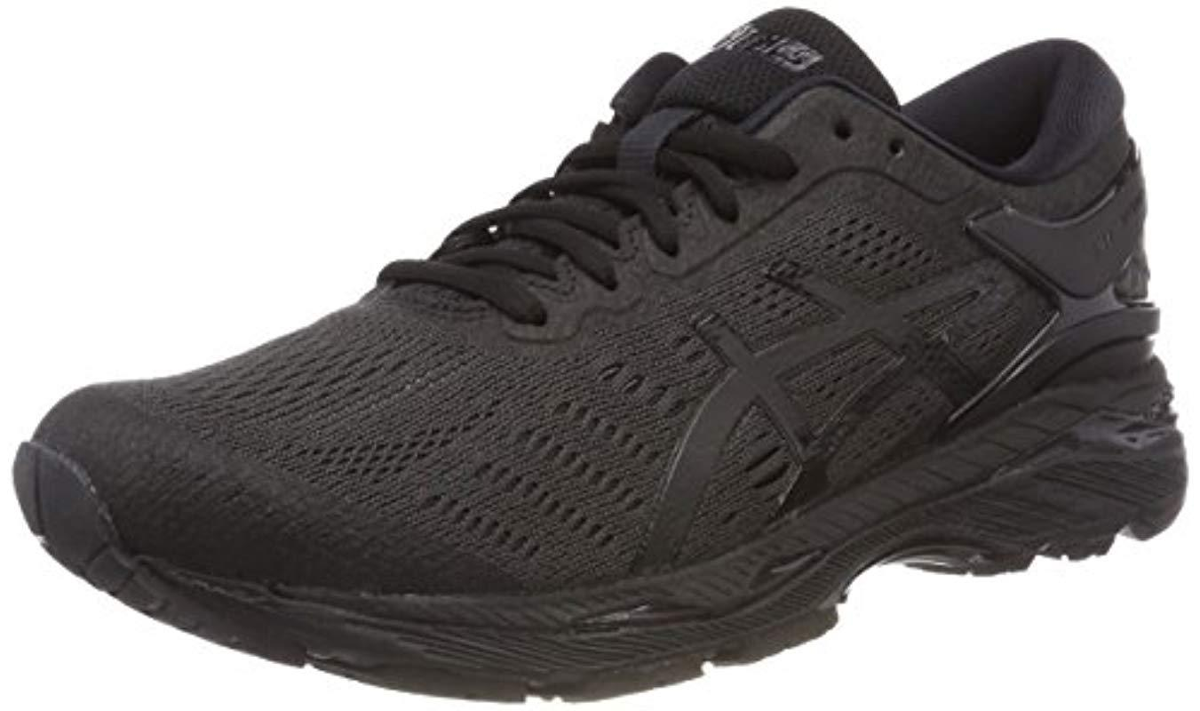 materiales superiores 2019 profesional diseño profesional Men's Black Gel-kayano 24 Running Shoes