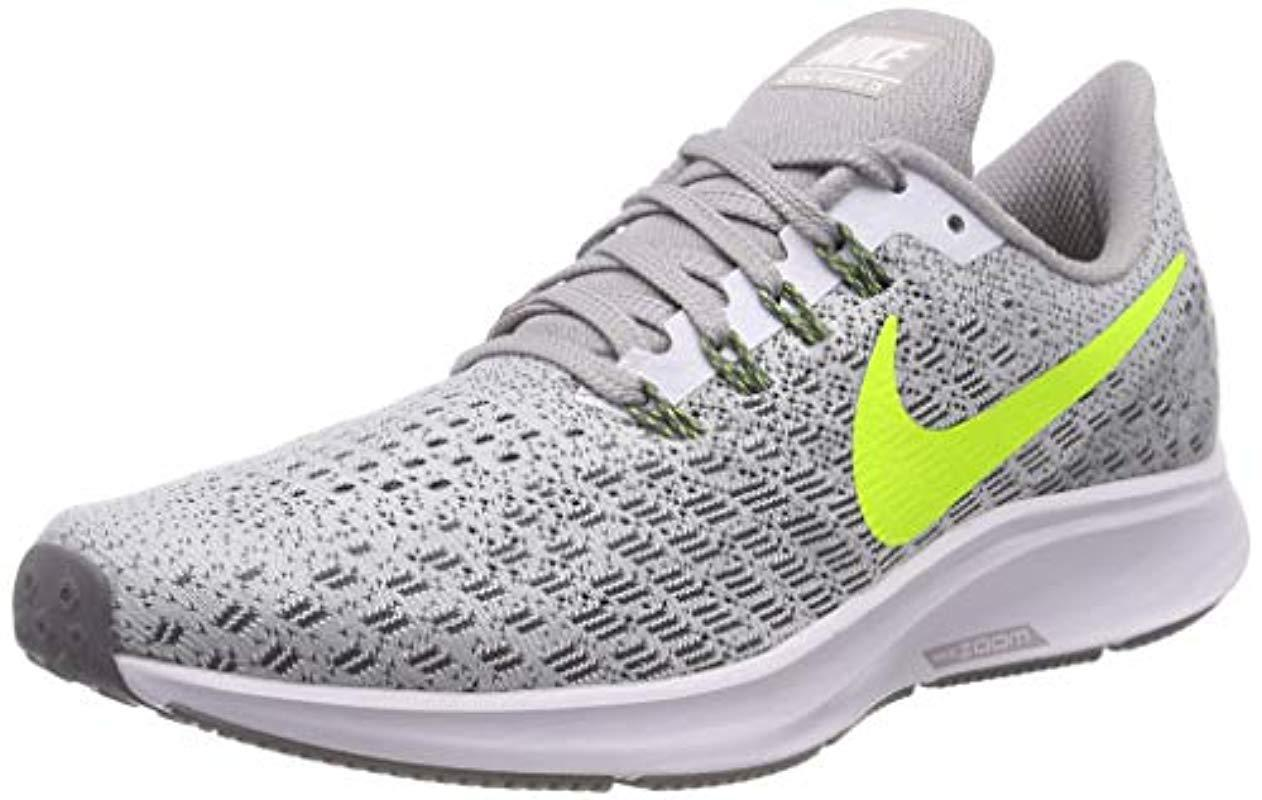 c7c7faa2337 Nike Air Zoom Pegasus 35 Running Shoes in White for Men - Save 65 ...