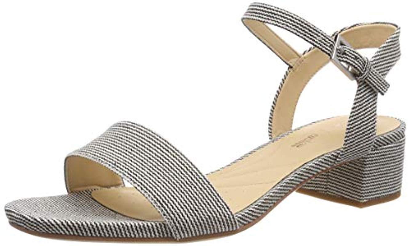 a57dbba60 Clarks Orabella Iris Ankle Strap Sandals in Blue - Save 9% - Lyst