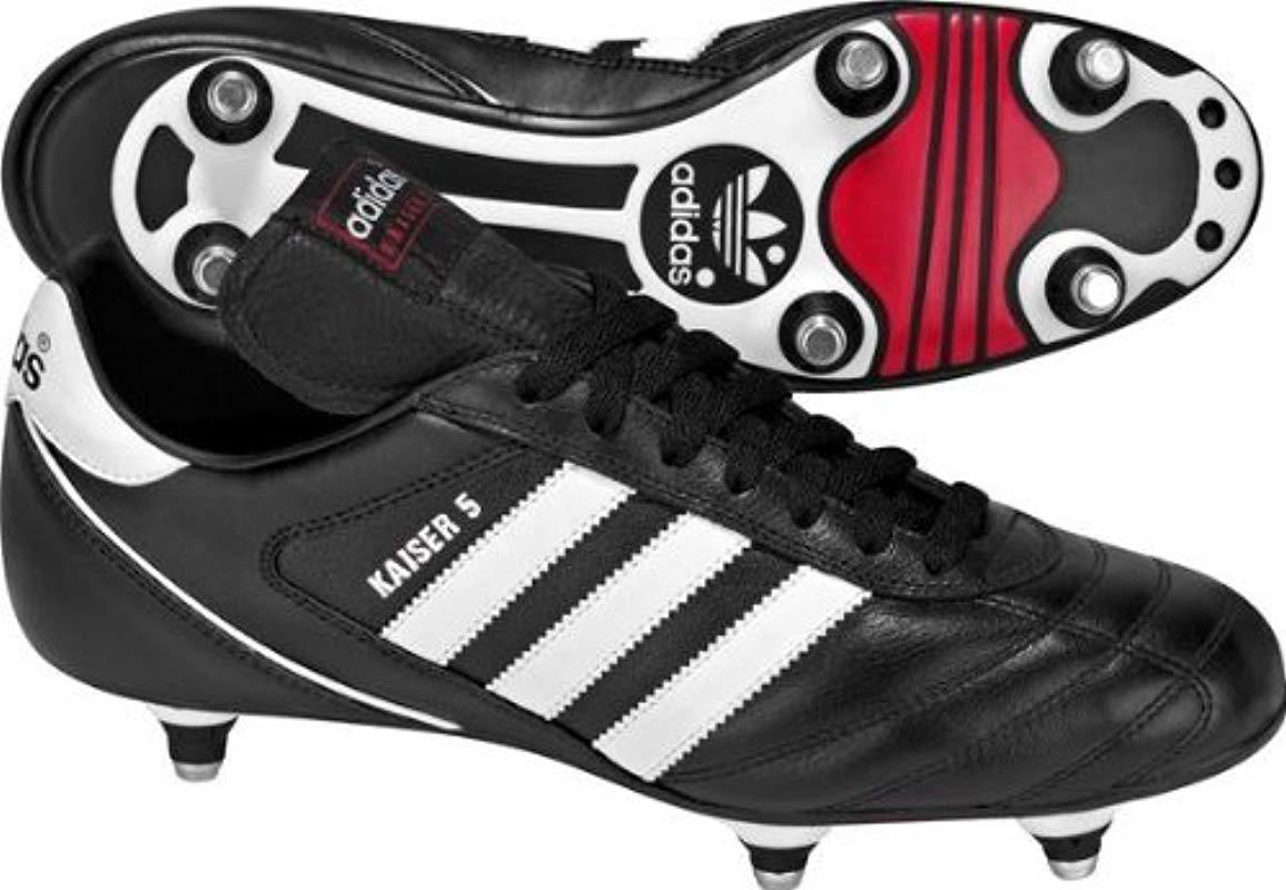 innovative design 52b5c bb270 Adidas - Black Kaiser 5 Cup, Football Boots for Men - Lyst. View fullscreen