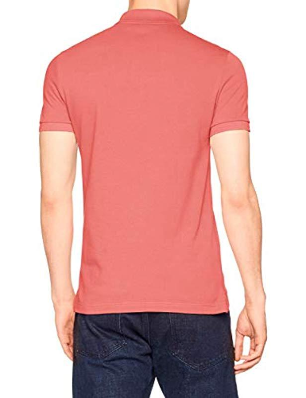 06e1cfe67efa Lacoste Polo Shirt in Pink for Men - Save 1% - Lyst