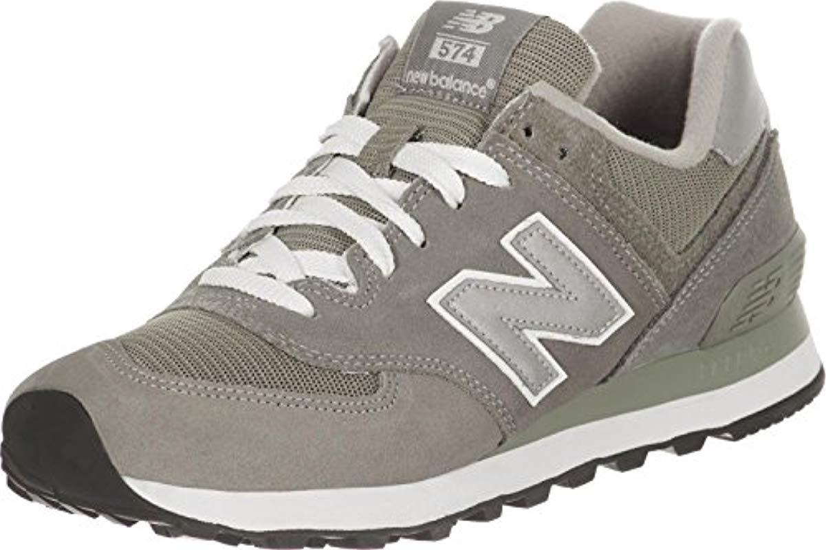 quality design 00e17 5ade0 New Balance 574, Unisex-adults  Trainers in Gray for Men - Lyst