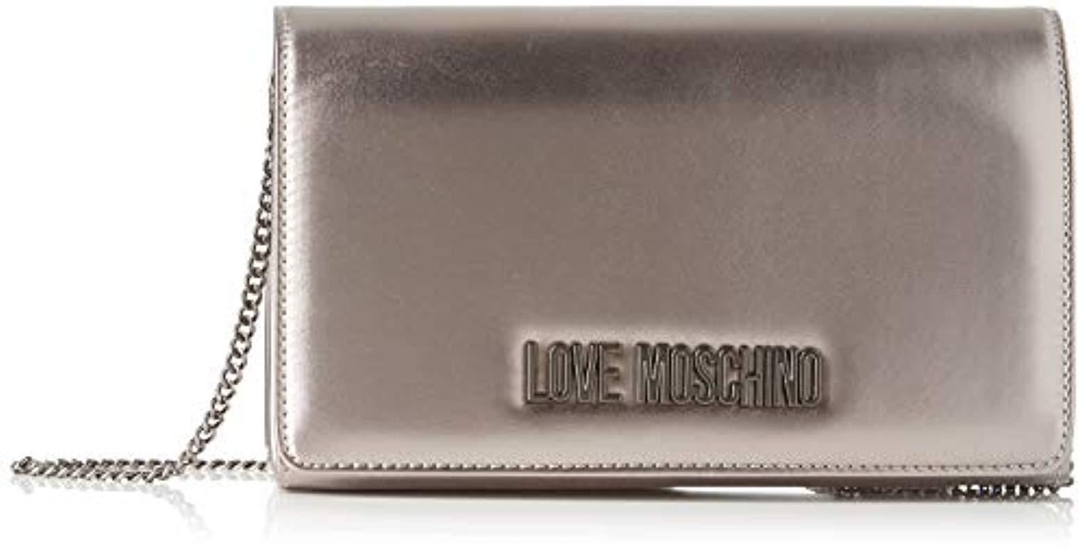W x H L Unisex adulto Jc4015pp18lb100a Negro 17x7x32 cm Nero Love Moschino
