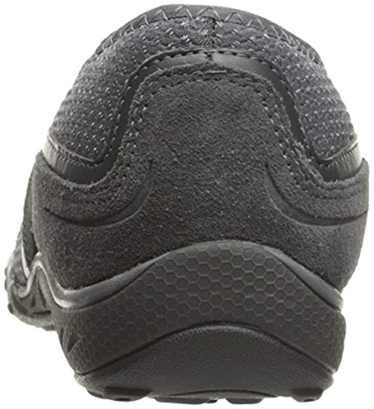 Breathe-Easy-Blithe Skechers de Ante de color Gris