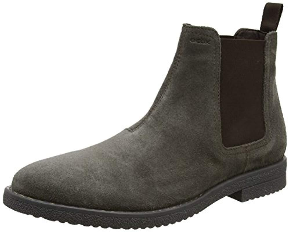Geox U Brandled F Chelsea Boots in Brown for Men - Lyst f220cc8ce4e