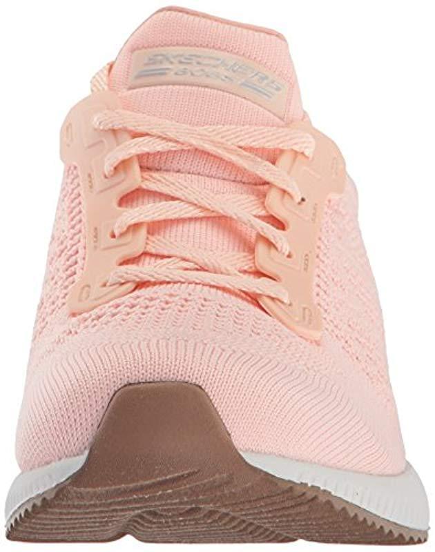 Skechers Bobs Squad-open Weave Sneaker in Light Pink (Pink)