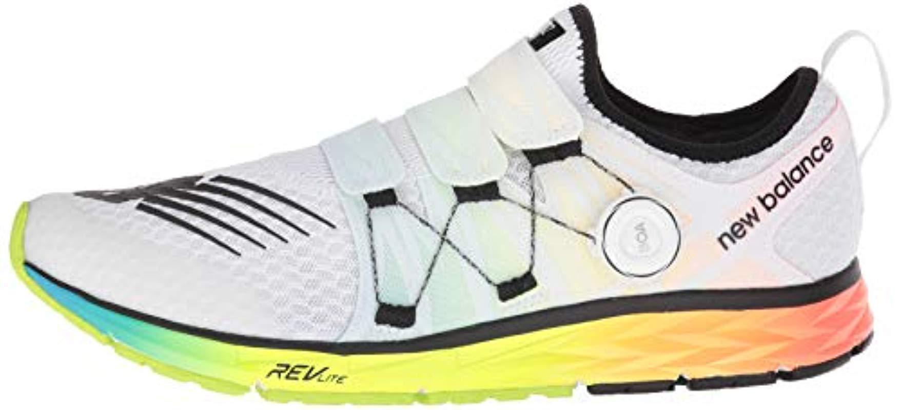 New Balance 1500v4 Boa Running Shoes in White for Men - Save 30 ...