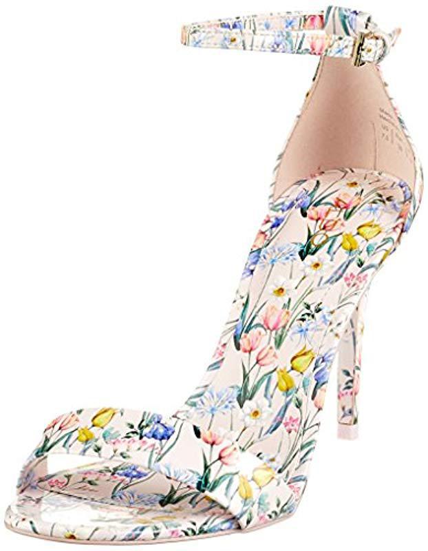 5b6a8b802b2 Aldo Cally Open Toe Sandals in Pink - Lyst