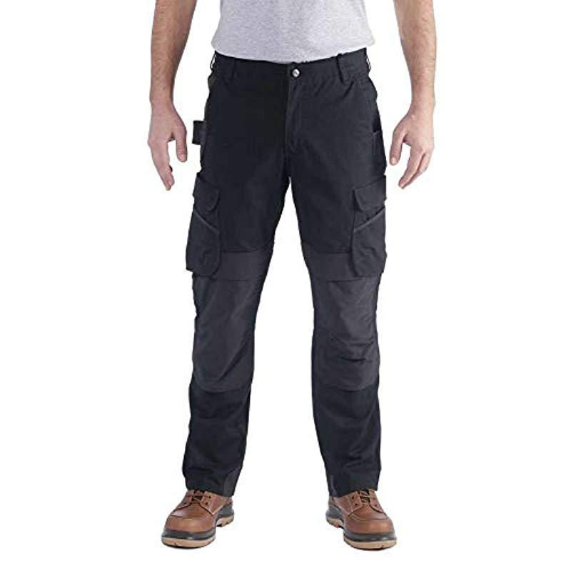 Carhartt Synthetik Full Swing Steel Cargo Pant Arbeitshose in Schwarz für Herren