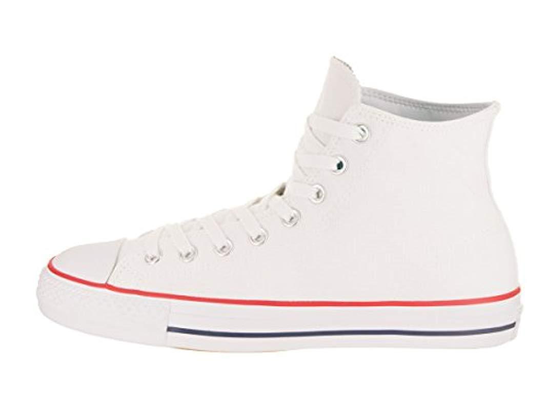 90bfc6a9d079 Converse - White Unisex Adults  Skate Ctas Pro Hi Textile Fitness Shoes for  Men -. View fullscreen
