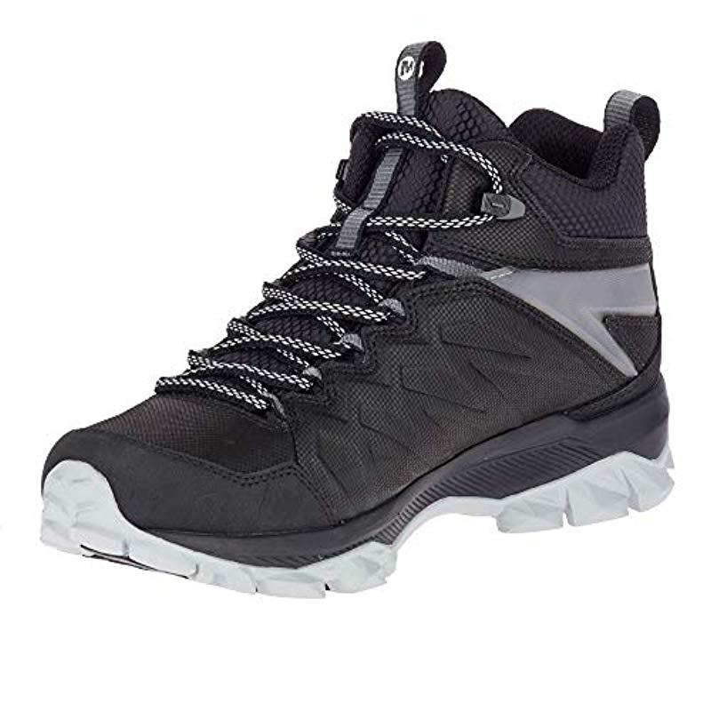 "Merrell Womens Thermo Freeze 8/"" Waterproof Walking Boots Black Grey Sports"
