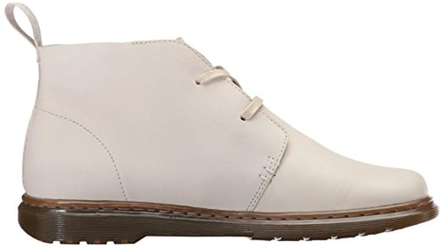 Martens Womens Cynthia Bone Chukka Boot 9 Medium UK Dr 11 US
