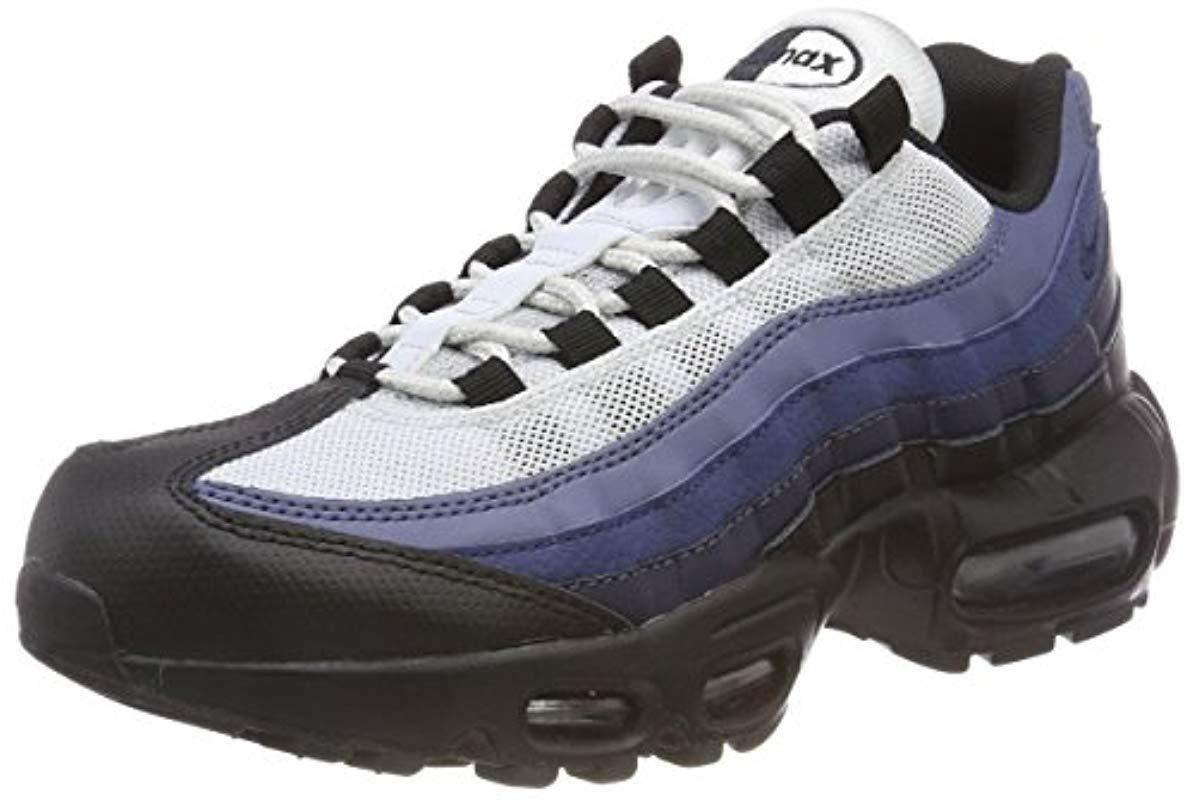 cheap for discount b4ced 896b0 Nike Air Max 95 Essential Low-top Sneakers, (black obsidian-navy ...