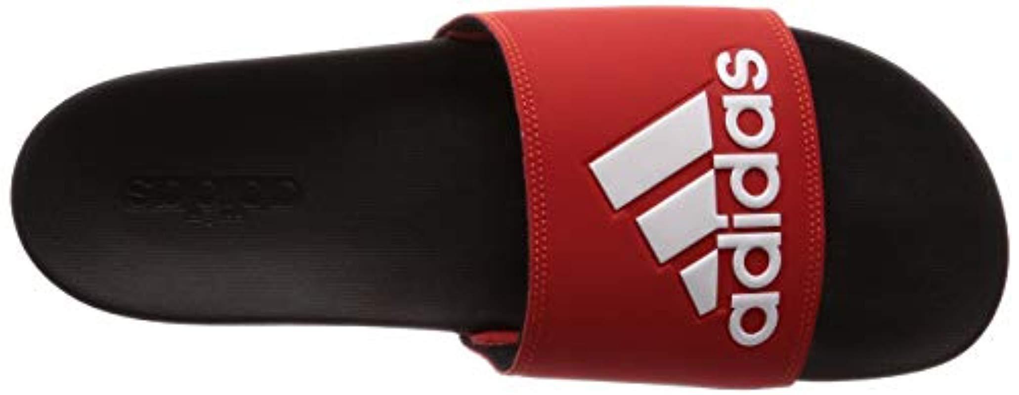 Adilette Comfort F34722, Chaussures de Plage & Piscine Homme ...