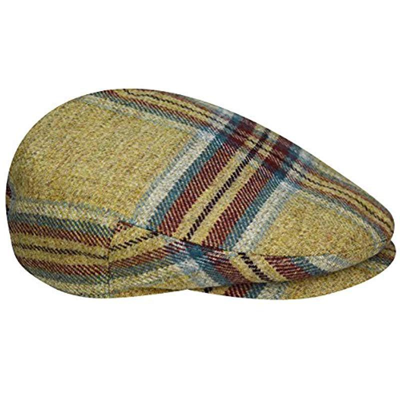 Kangol - Multicolor British Peebles Flat Ivy Cap Hat for Men - Lyst. View  fullscreen 00c08140bff1