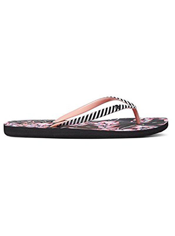 Sandals Roxy Portofino Black Multi