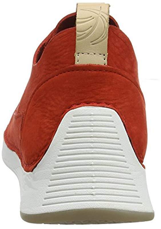 Tri Spark Clarks de hombre de color Rojo