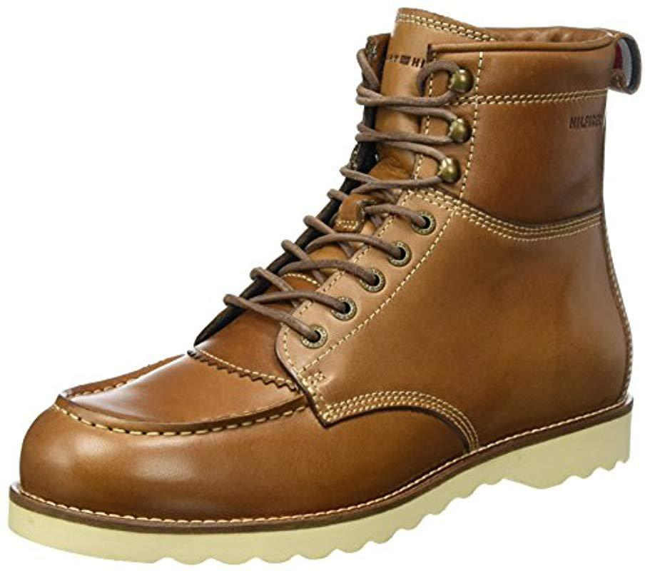 d444a4c00ead56 Tommy Hilfiger  s R2285udy 1a Chukka Boots in Brown for Men - Lyst