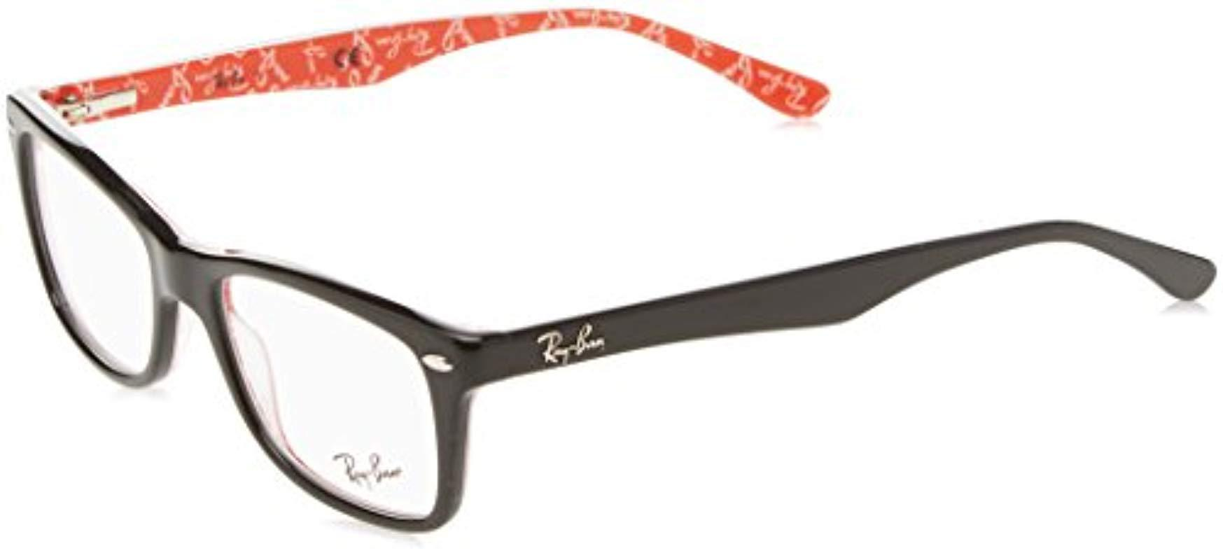 f9bc6aaaa0 Ray-Ban Rx5228 Glasses In Havana Brown Rx5228 5545 50 in Gray for ...
