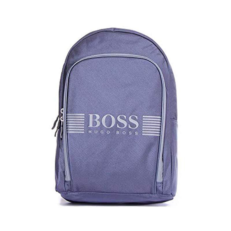 BOSS Green Mens Pixel Nylon Backpack