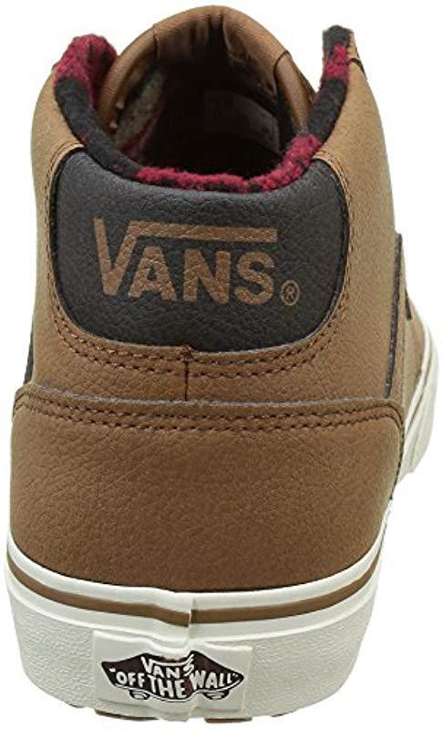 4213d5d83c Vans - Brown Chapman Mid Mte Low-top Sneakers for Men - Lyst. View  fullscreen