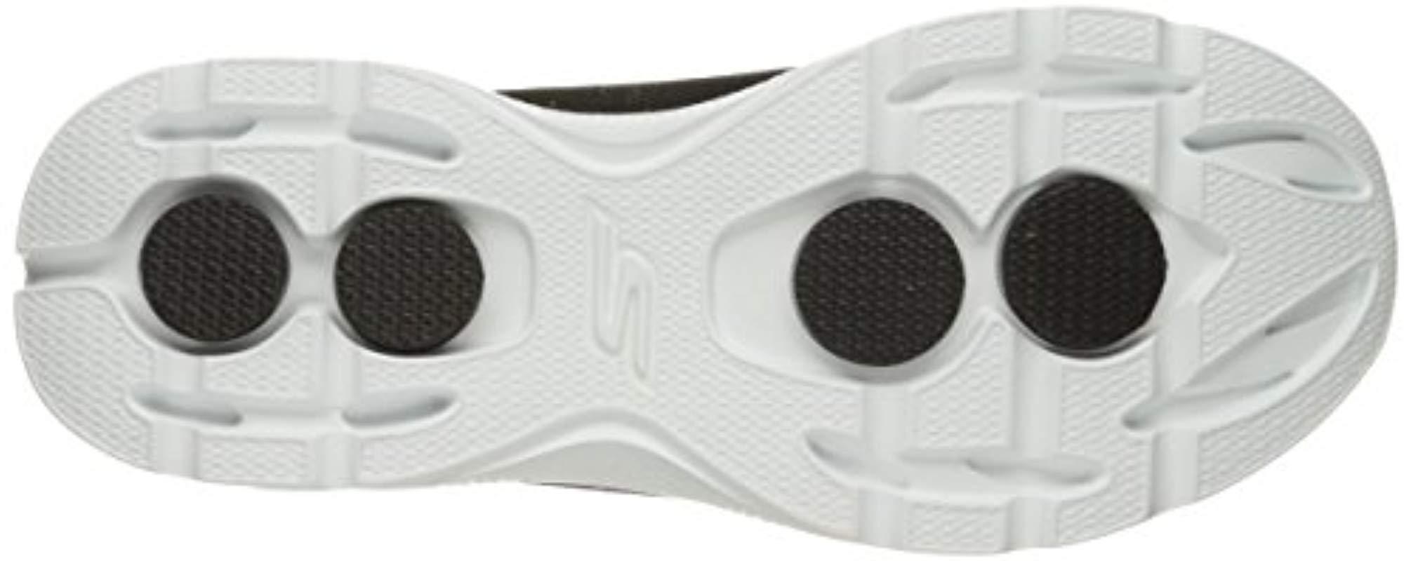 Skechers Performance Go 4-advance Walking Shoe,black/white,11 M Us for Men