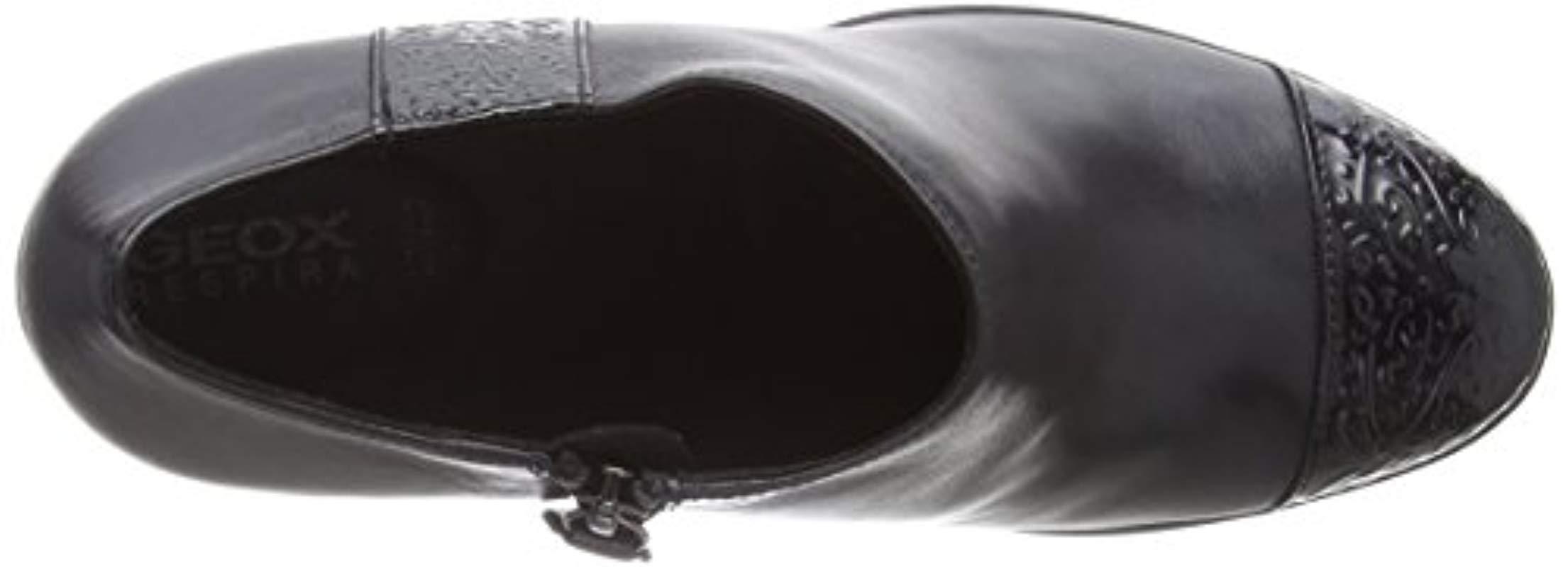 D ANNYA High D Geox de Cuero de color Negro: ahorra un 50 %