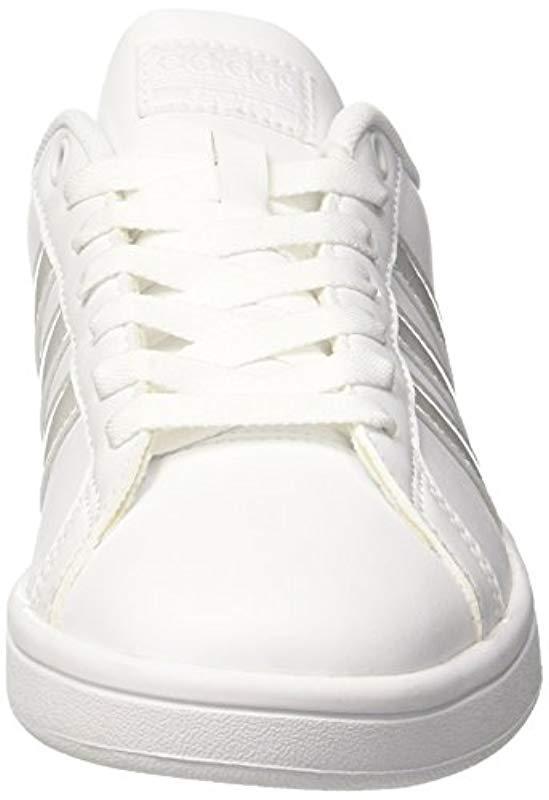 Cloudfoam Advantage, Sneakers Basses adidas en coloris Blanc  nOoG