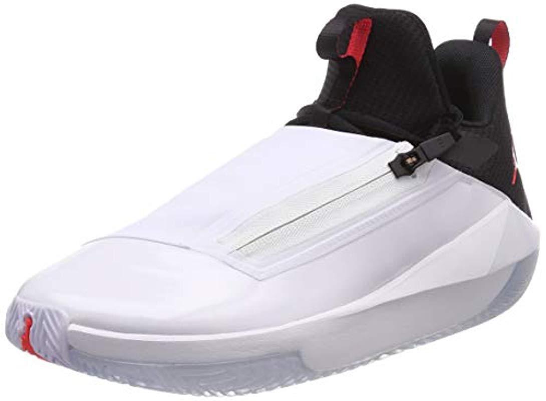 31167dadf1ce5 Nike Jordan Jumpman Hustle Basketball Shoes in White for Men - Lyst
