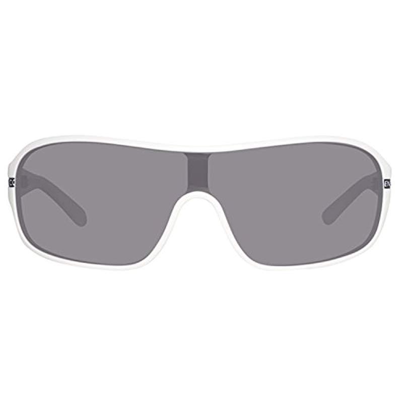 United Colors of Benetton Herren BE52604 Sonnenbrille, Weiß