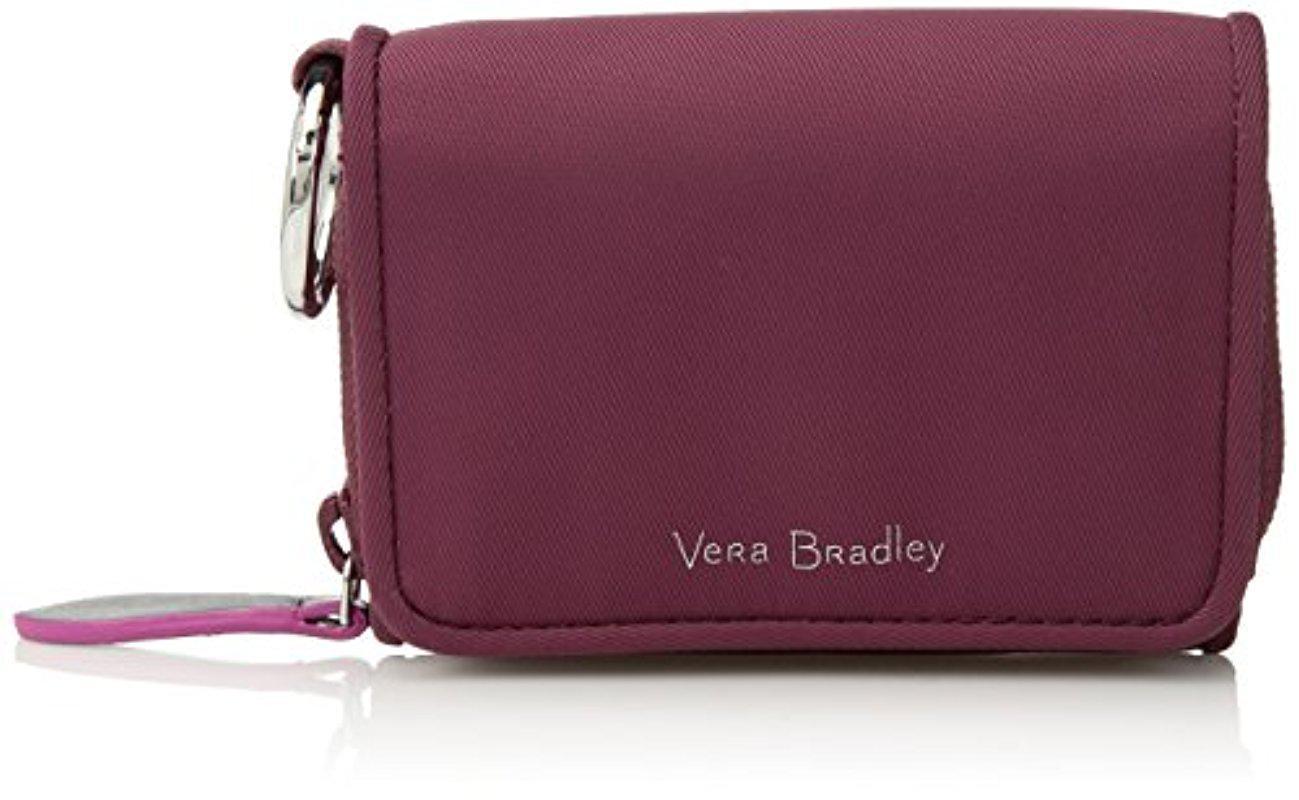 Lyst - Vera Bradley Midtown Rfid Card Case in Purple
