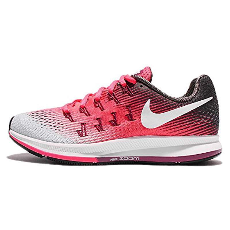 nike running air zoom pegasus trainers in pink