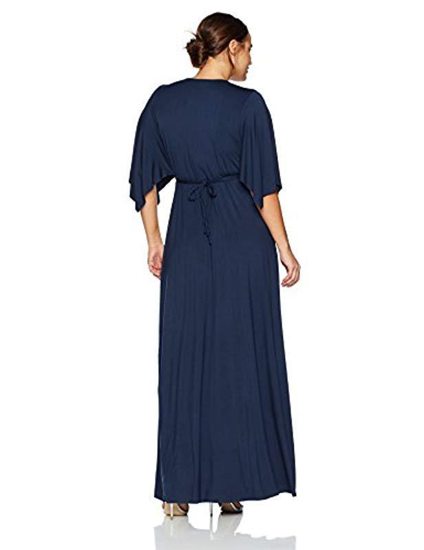 c83a60ea904 Lyst - Rachel Pally Plus Size Long Caftan Dress Wl in Blue