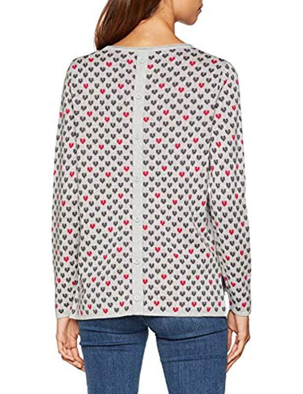 098ee1i036 suéter Esprit de color Gris
