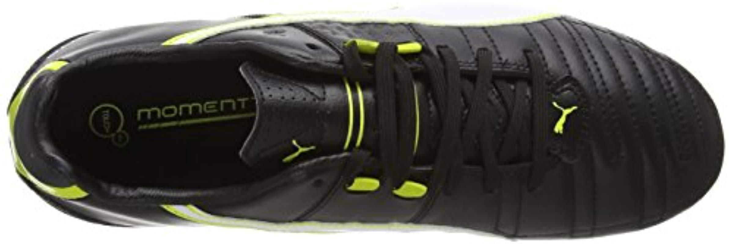 release info on various styles top design PUMA Momentta Ii Fg, 's Footbal Shoes in Black for Men - Lyst
