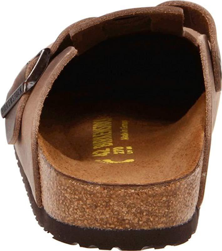 a060af0348e608 Lyst - Birkenstock Boston Leather