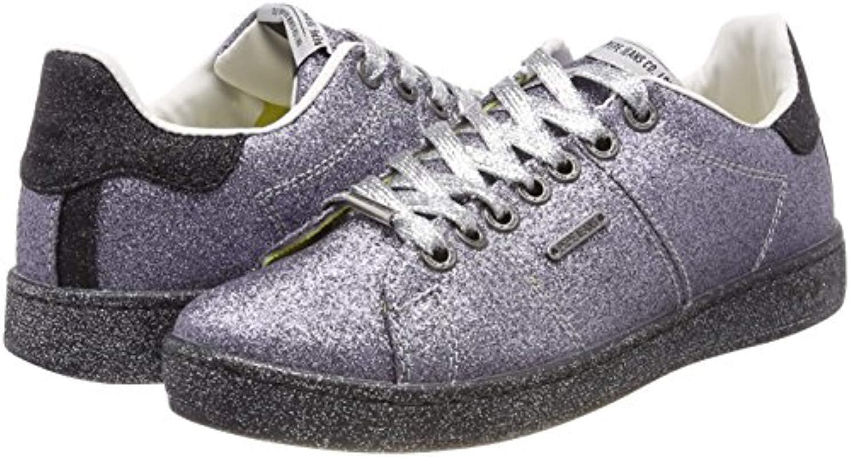 London Brompton Part, Zapatillas para Mujer Pepe Jeans de Denim de color Metálico