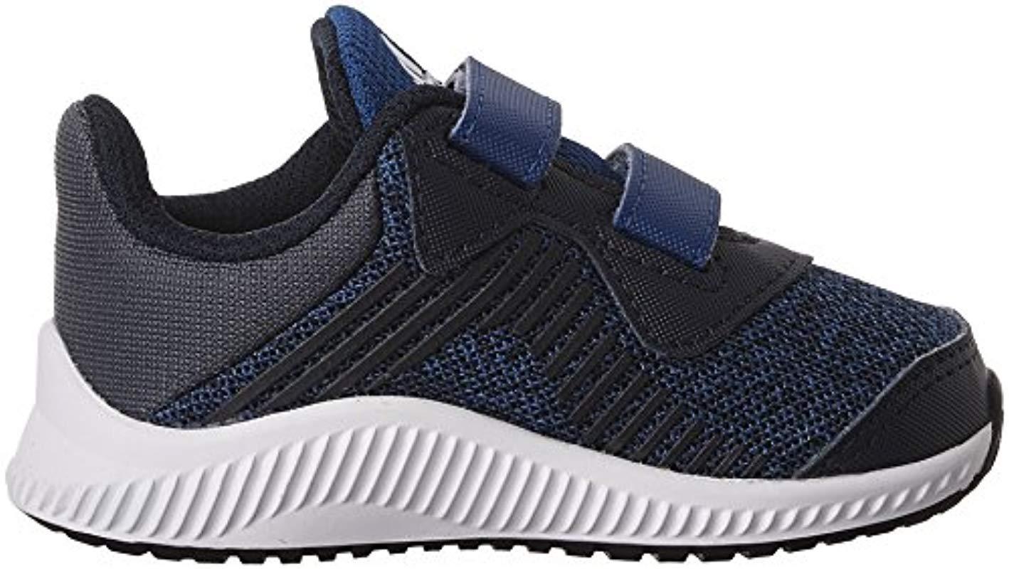 Adidas Infants FortaRun CF Sneaker Navy//Wht 10 M US