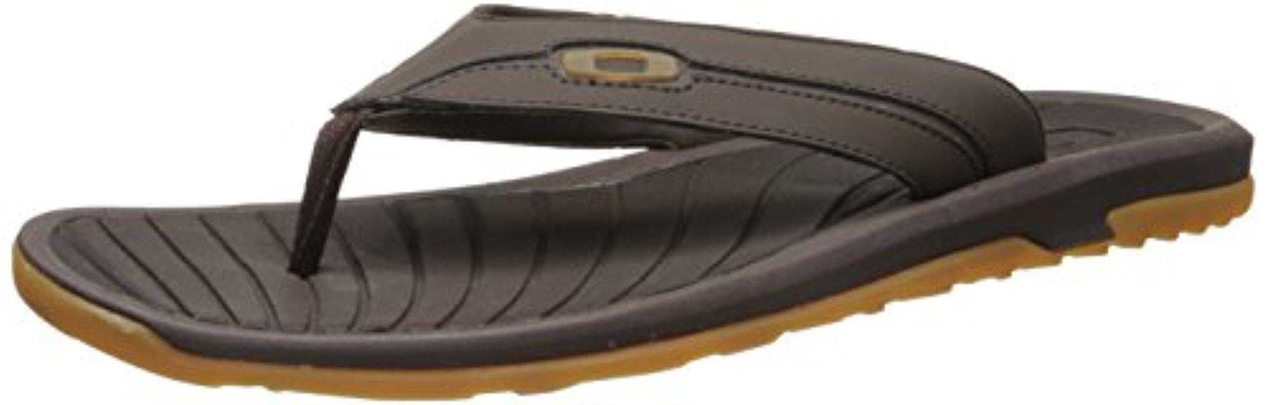 13b1066fbb088 Lyst - Oakley Dune Sandal in Brown for Men