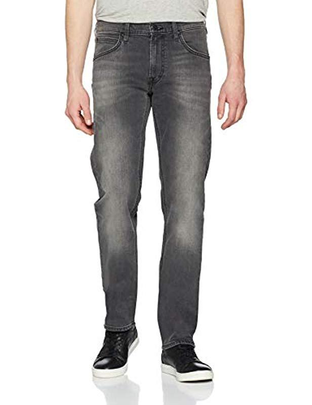 Lee Jeans Denim Daren Zip Fly Jeans in Schwarz für Herren - Sparen Sie 8%