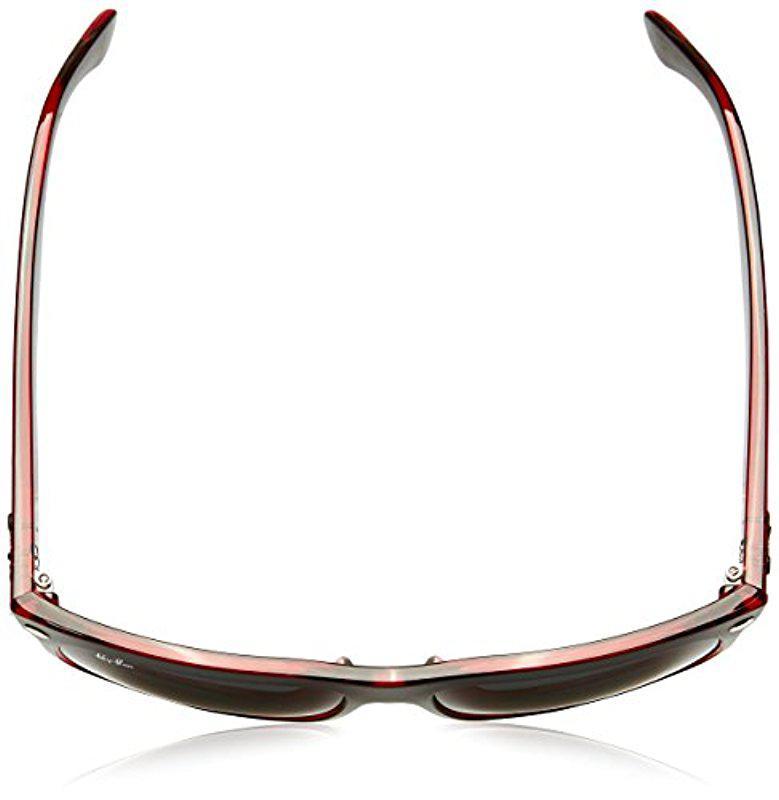 e70403f8d62 Ray-Ban - Black 0rb4147 60414060 Highstreet Boyfriend Sunglasses for Men -  Lyst. View fullscreen
