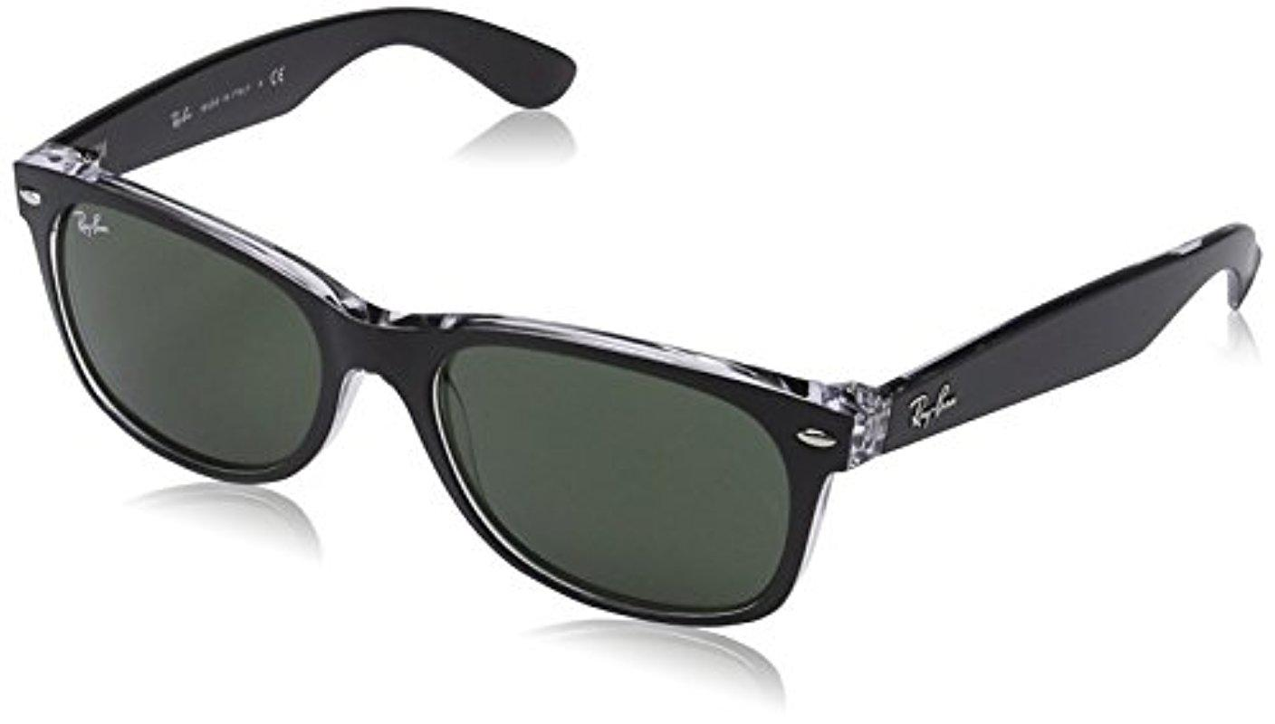 cd210106114 Lyst - Ray-Ban New Wayfarer Color Mix Sunglasses With Black ...