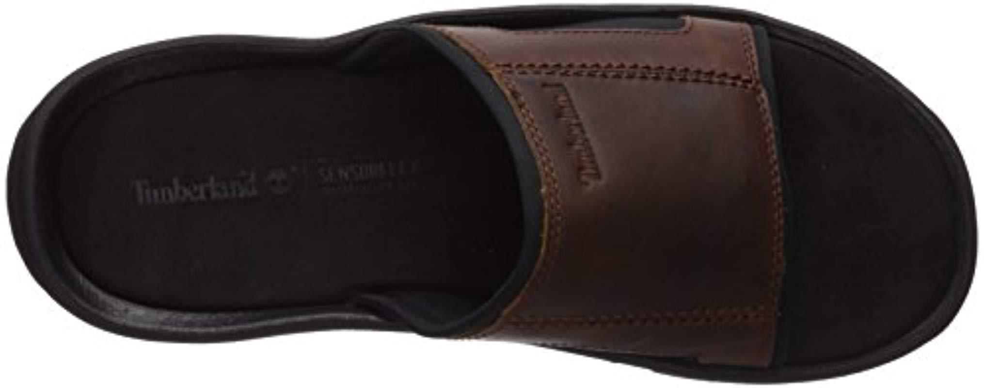 mules hommes cuir timberland