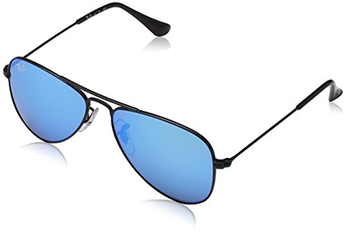 e46ff56316e Lyst - Ray-Ban Jr. Kids Sunglasses Metal in Black for Men
