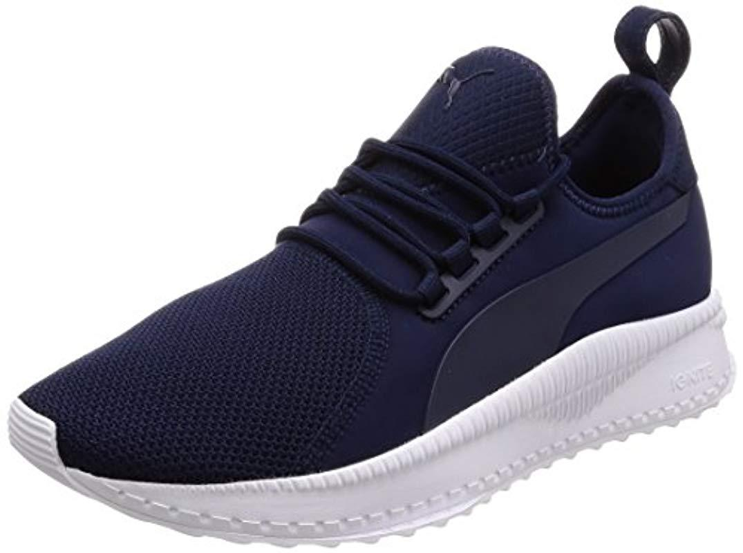 PUMA Unisex Adults  Tsugi Apex Low-top Sneakers Black in Blue for ... 5561a5884