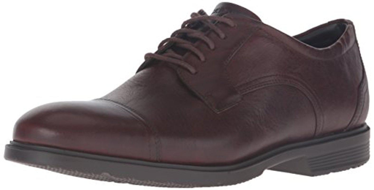 Rockport City Smart Plain Toe Oxford(Men's) -Black Leather From China Online Discount Free Shipping Deals Online Free Shipping Get To Buy uu6IQO9vl9