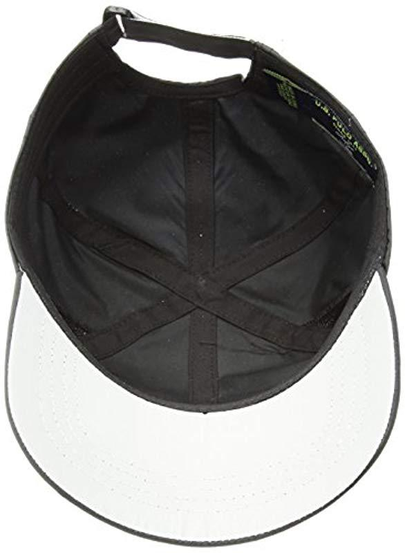 Gel Print Log Adjustable Mens Nylon Mesh Baseball Cap U.S Polo Assn